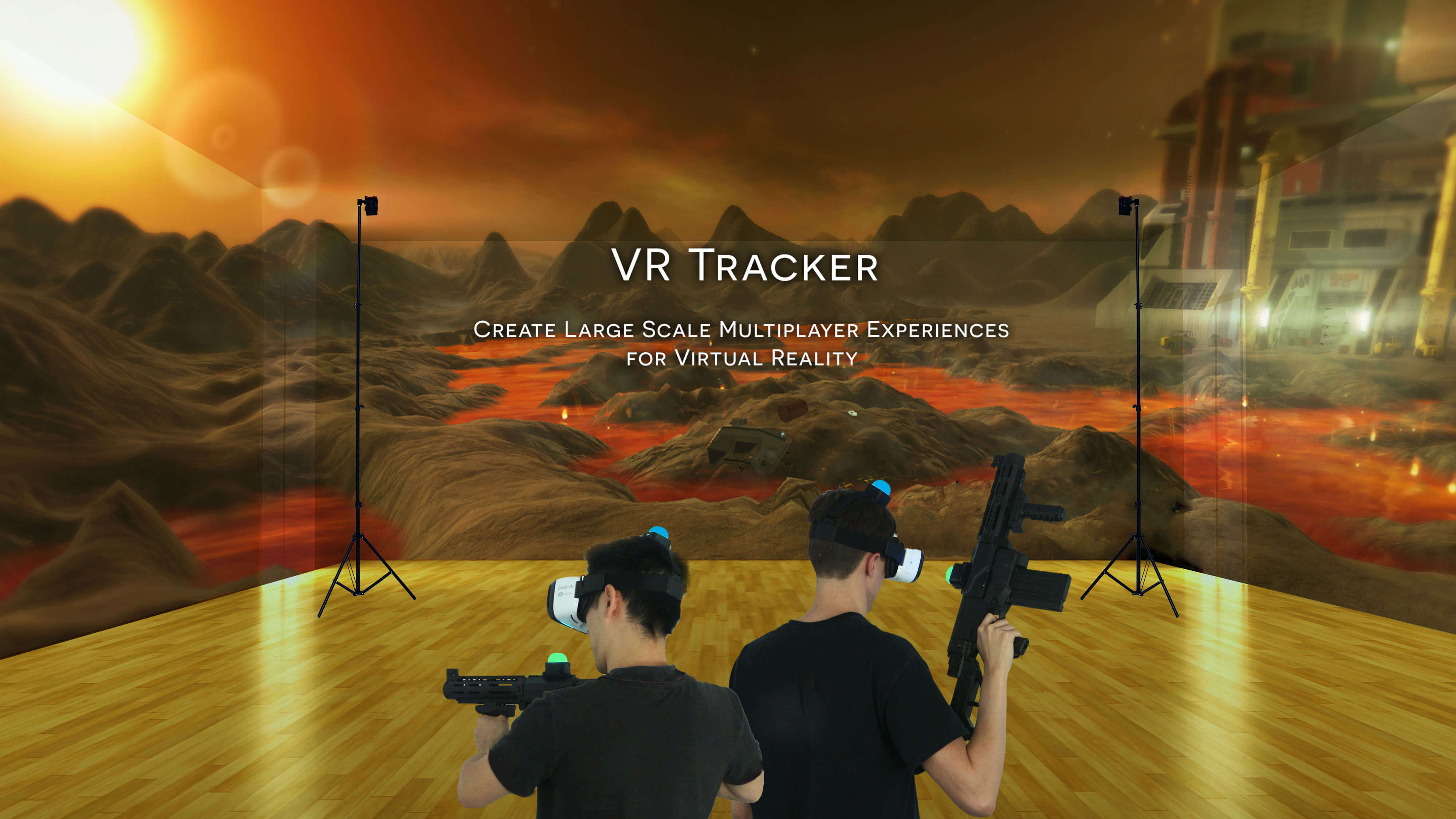 VR Tracker - 3D Position Tracking for Virtual Reality : Create new
