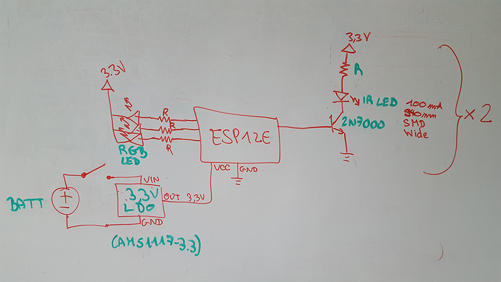 Whiteboard Tag Circuit